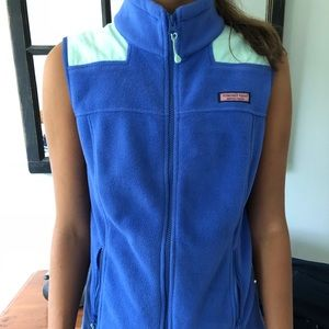 Vineyard Vines Fleece Vest, Small